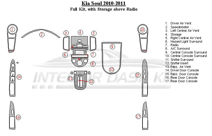 Fuse Box Diagram 2000 Kia Sephia Interior. Kia. Auto
