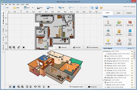 interior design layout software. Black Bedroom Furniture Sets. Home Design Ideas