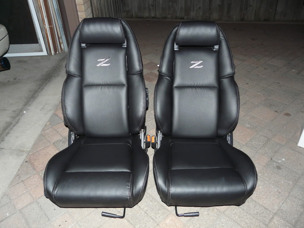199096 Nissan 300ZX Synthetic Leather Seat CoversFront