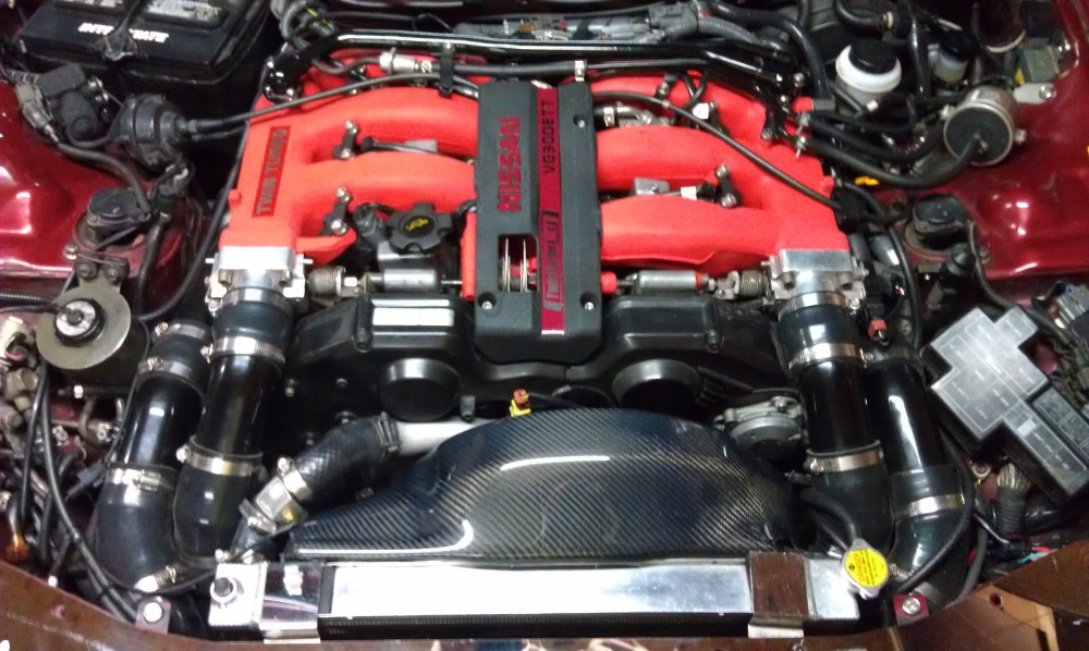 medium resolution of 1990 99 nissan 300zx carbon fiber engine