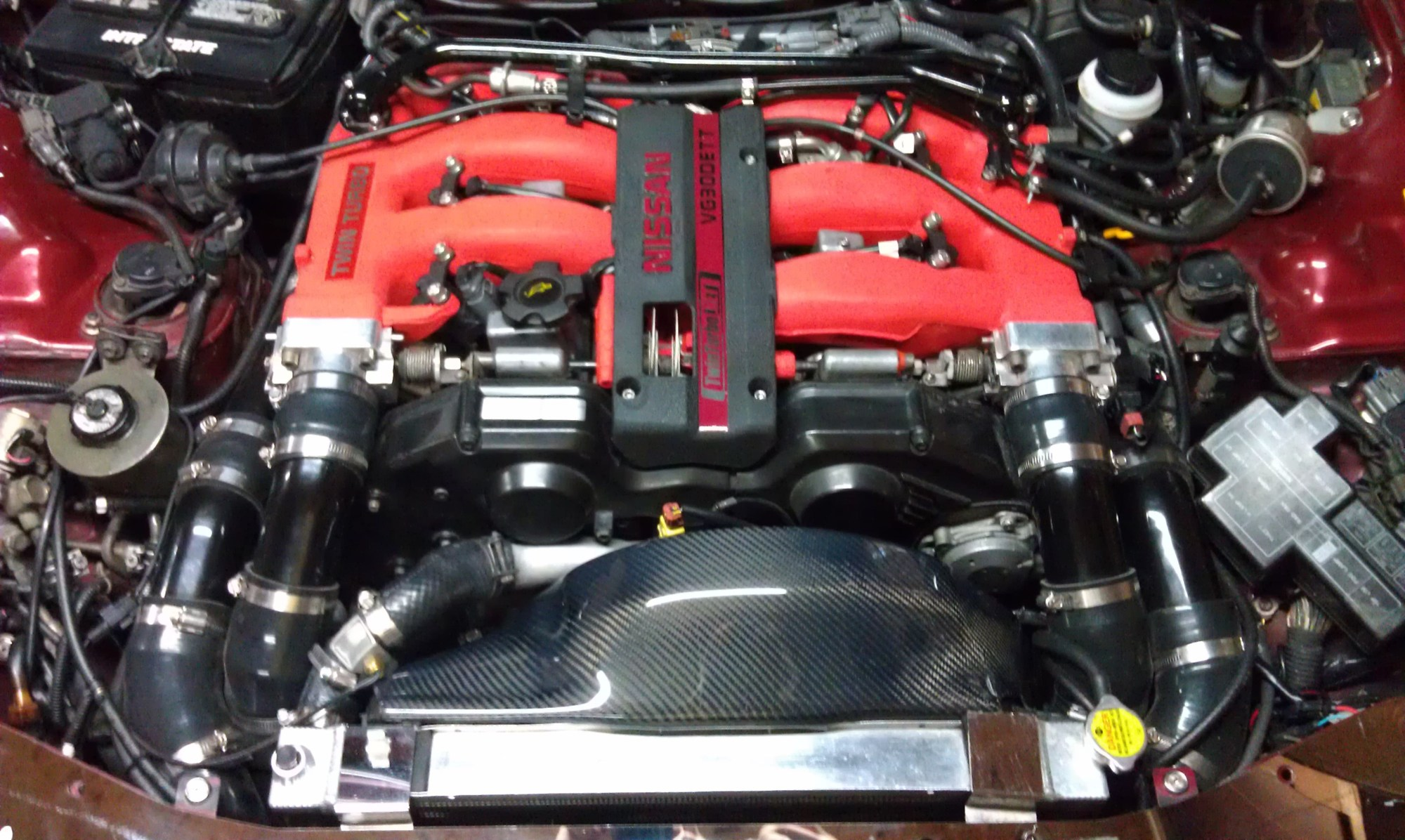 hight resolution of 1990 99 nissan 300zx carbon fiber engine