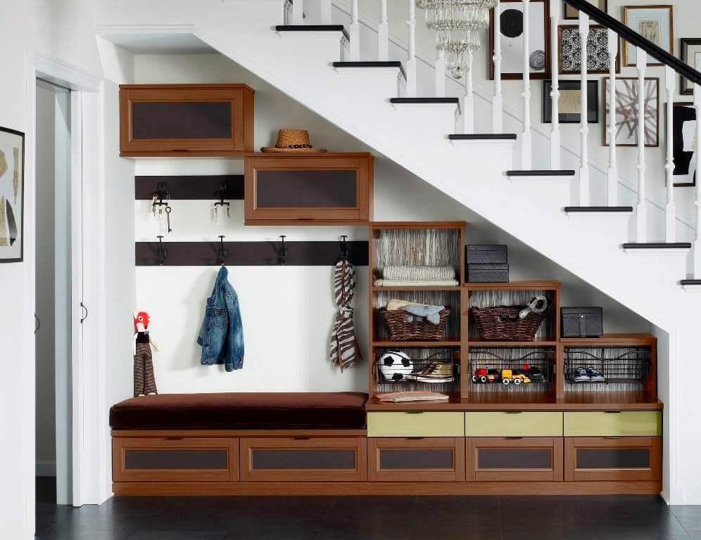 Innovative Under Stairs Design Ideas To Best Utilize Your Space   Interior Design Under Staircase   Ideas   Cupboard   Indoor Garden   Spiral Staircase   Shelves