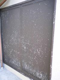 木製雨戸の塗装(京都市伏見区)