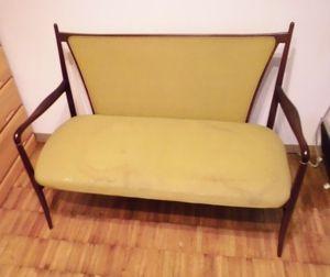 2人掛椅子張替
