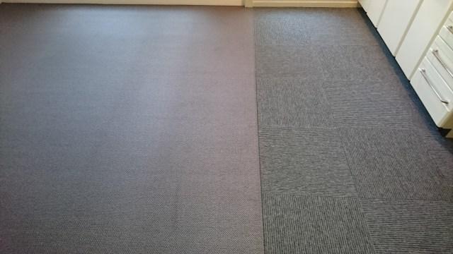 オーダーカーペット&タイルカーペット施工 (京都市伏見区)