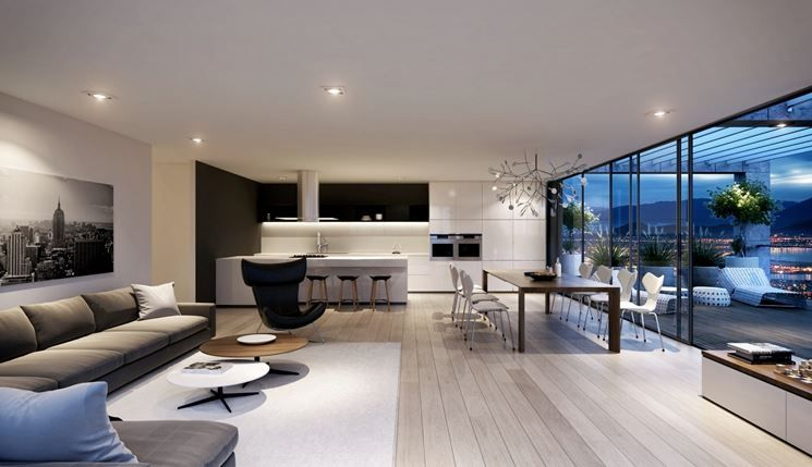Hardwood decor is great for interior settings. How To Furnish A Kitchen And Living Room In An Open Space Tips And Ideas For Your Home Interior Magazine Leading Decoration Design All The Ideas To Decorate Your Home Perfectly