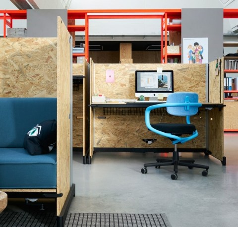 Flexible Office System by Konstantin Grcic for Vitra