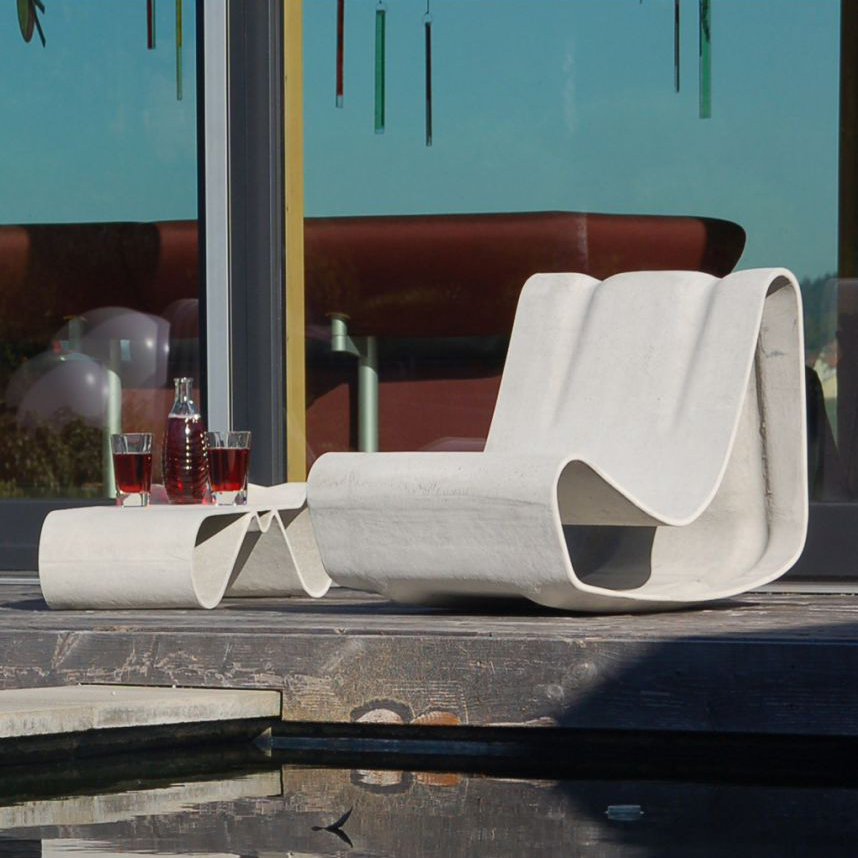 Loop Concrete Outdoor Chair by Willy Guhl  – A Modern Design Classic