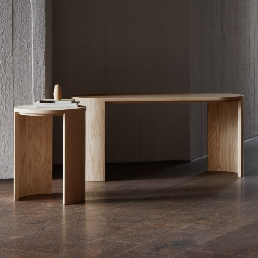 Charming and Elegant – Airisto Stool and Bench for Finnish Design House Made by Choice