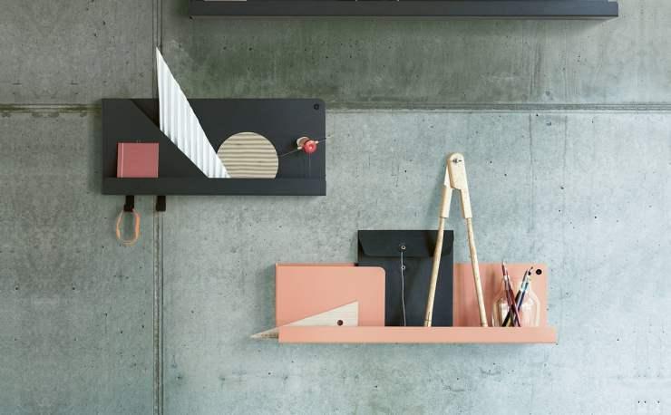 Single Sheet Folded Shelf Design by Johan Van Hengel for Muuto