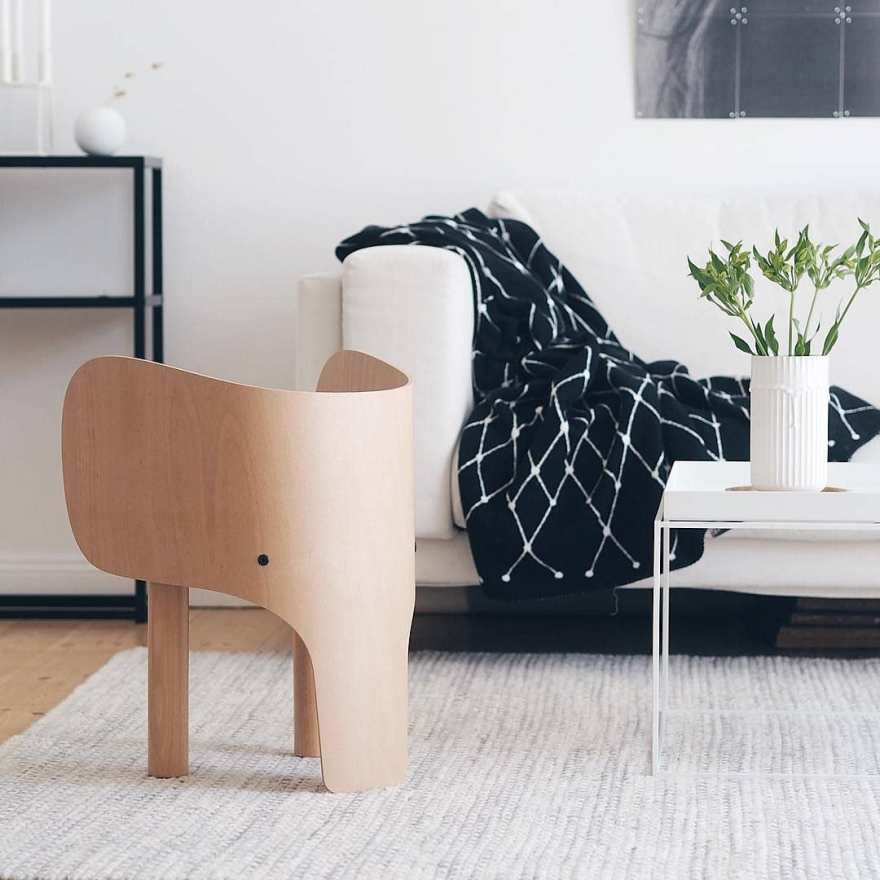 The Coolest Kids Furniture – Elephant Chair Design for Children by Marc Venot for Danish Design House EO