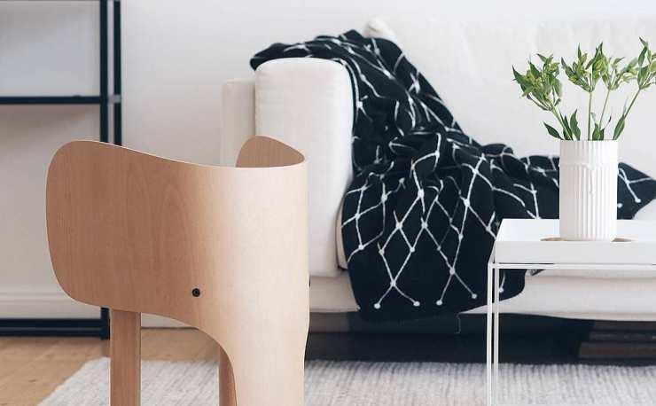 EO - Elephant Children Chair by Designer Marc Venot - Interior 3000 Design Blog - Kid Chair, Kids furniture