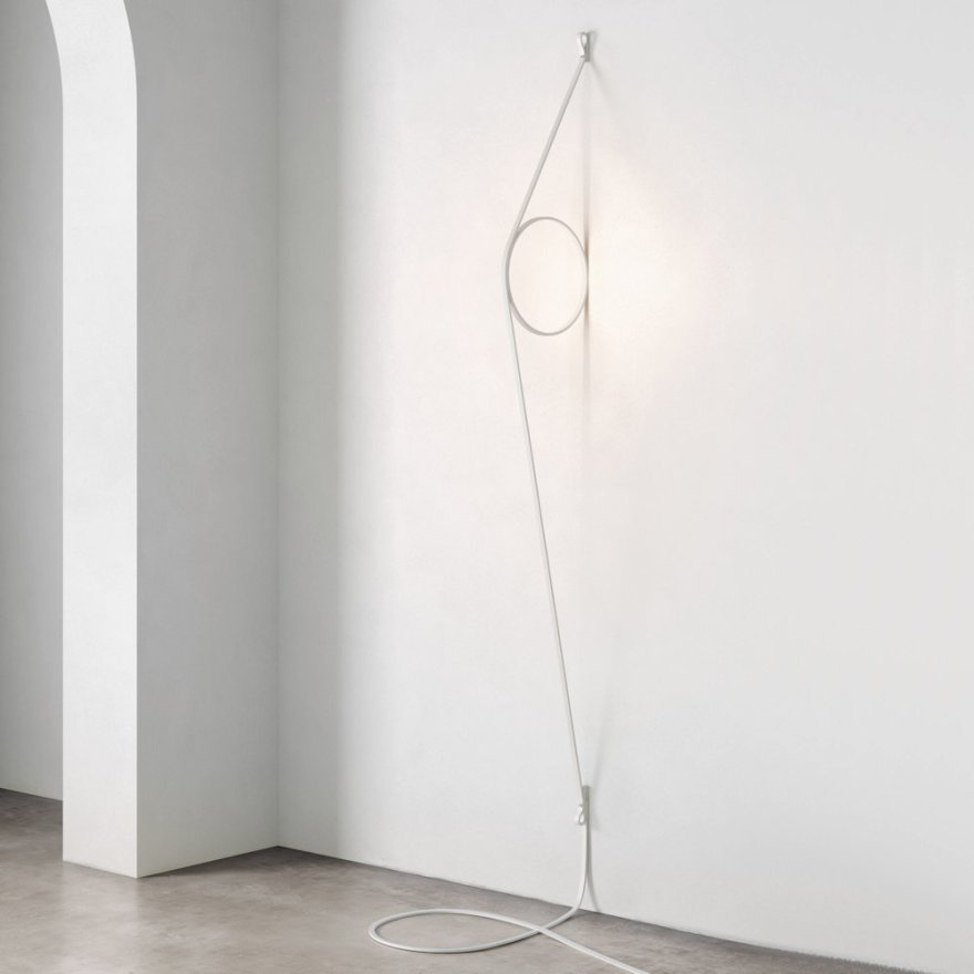 The Most Creative Wall Lamp Design – WireRing  Wall Light by Formafantasma for Flos