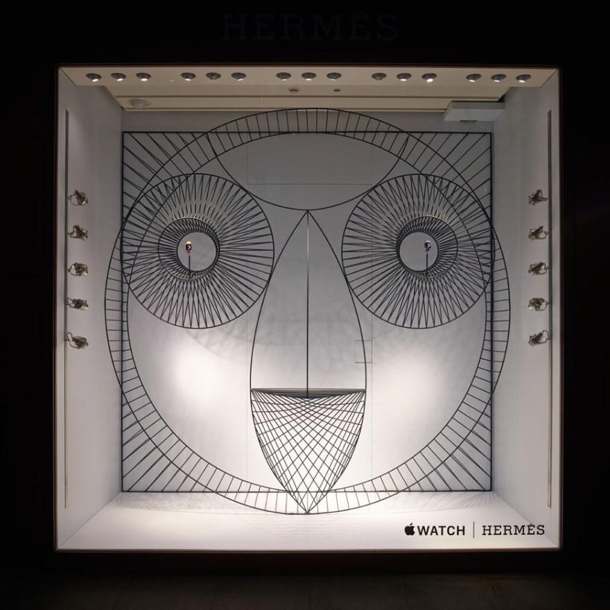 Super Cute Window Design by GamFratesi – Hermès Japan Windows Display Apple Watch
