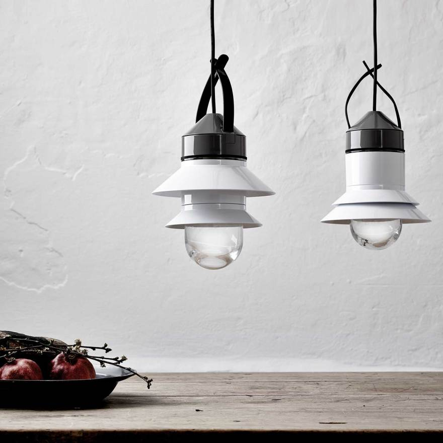 The Customizable Outdoor Lantern Light – Santorini Pendant Lamp Design by Sputnik Estudio for Marset