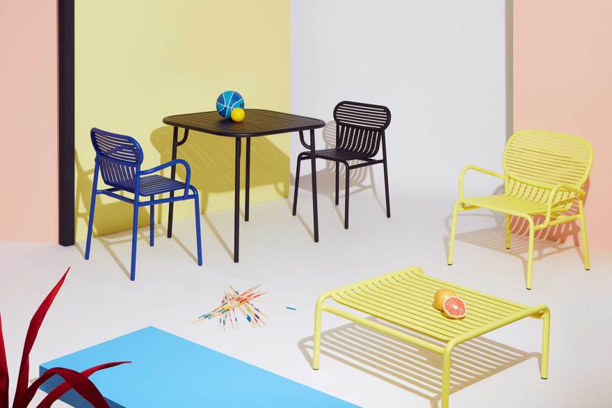 Outdoor Time – The Week-End Outdoor Furniture Collection by Petite Friture – Garden Chairs, Tables, Benches…