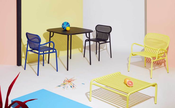 Outdoor Time - The Week-End Outdoor Furniture Collection by Petite Friture - Garden Chairs, Tables, Benches... Interior 3000 Design Blog, Furniture Design, Interior Design