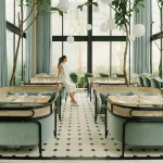 Enjoy A Tropical Coffee In The Harlan Holden Glasshouse Cafe In Manila By Design Duo Gamfratesi Interior 3000