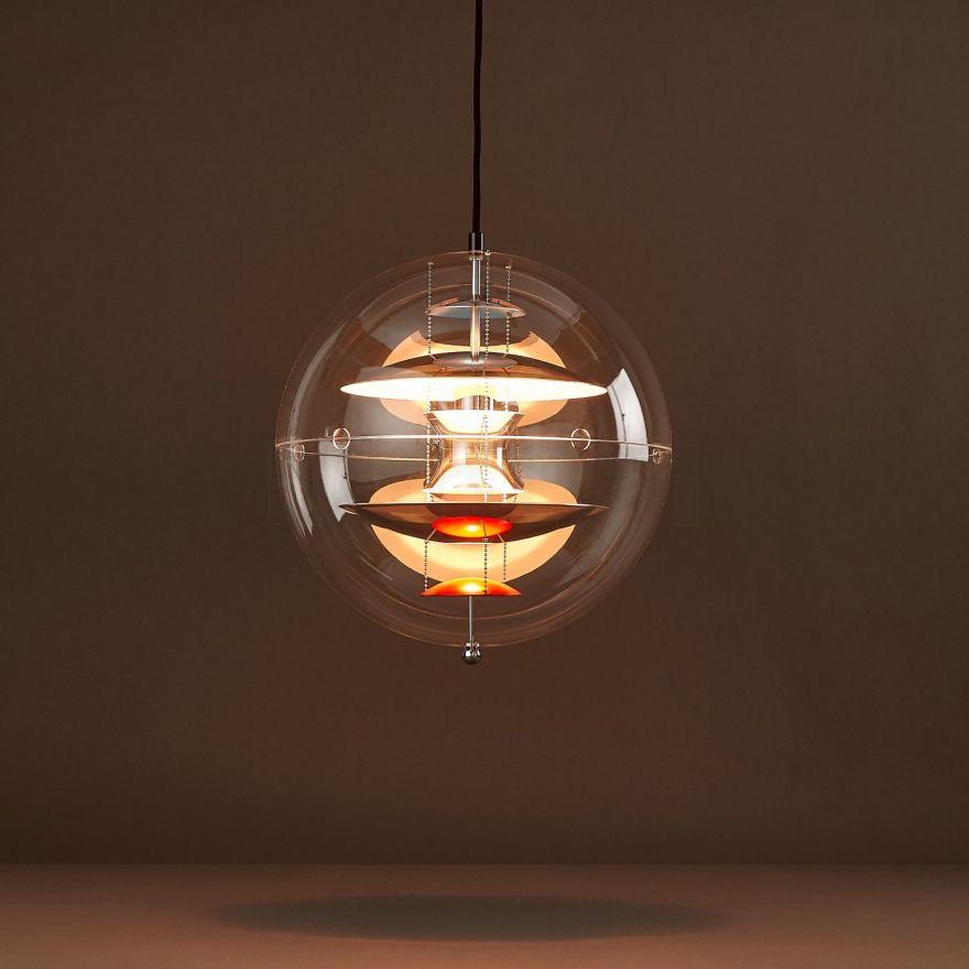 A Unique Example of Verner Panton's Lighting Design Skills – VP Globe Pendant Lamp by Verpan