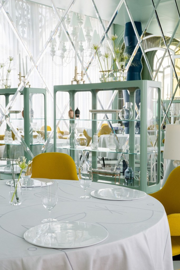 The Fabulous La Terraza Del Casino Restaurant In Madrid By