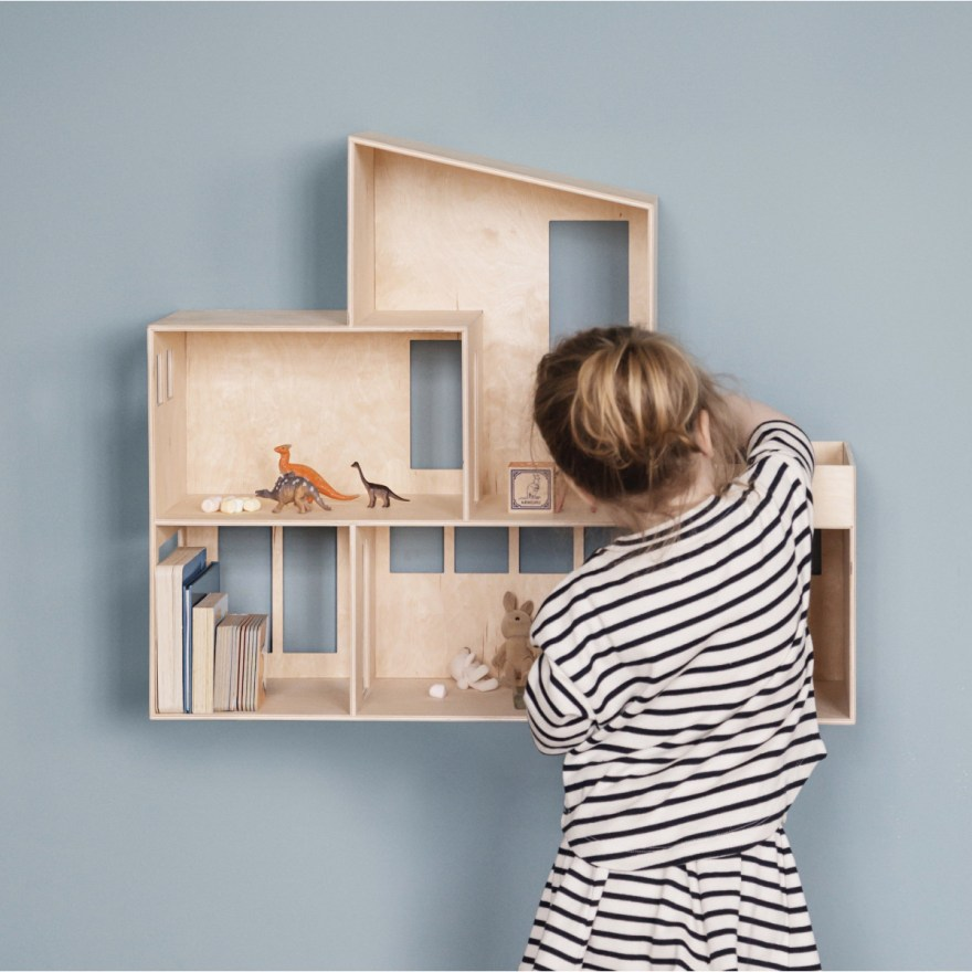 Kids will Love this Design Dollhouse – The Funkis Doll House by ferm Living