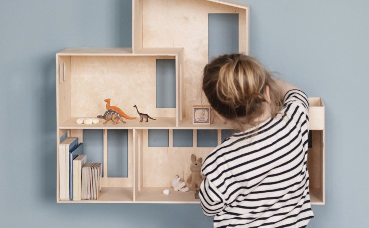 Kids will Love this Design Dollhouse - The Funkis Doll House by ferm Living, interior 3000, interior design, furniture design , Design Blog