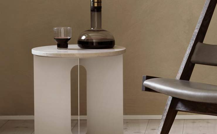 A Beautiful Silhouette - Androgyne Side Table Design by Danielle Siggerud for Menu, Interior 3000 Design Blog, Interior Design, Furniture Design