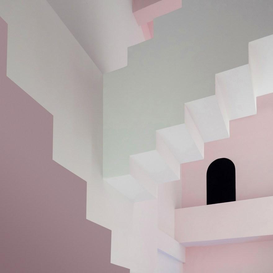 M.C. Escher Inspired Maze Hotel Interior Design by Studio 10 in Guilin, China