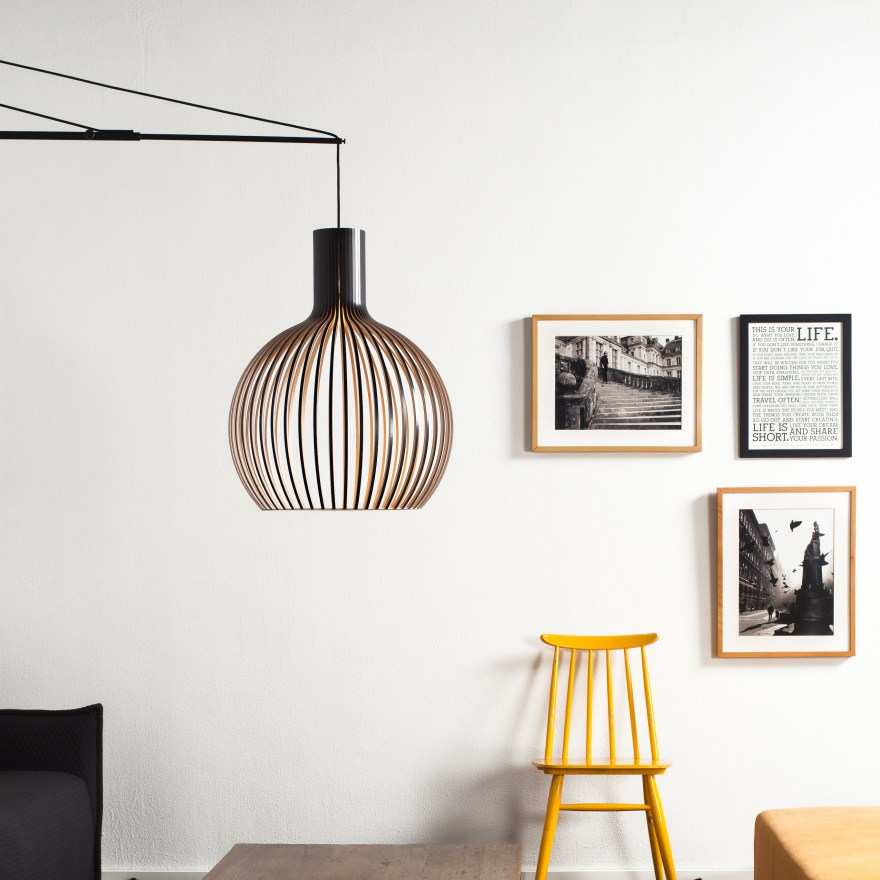 Beautiful Wood Lamps Handmade in Finland – Secto Design Lamps by Seppo Koho