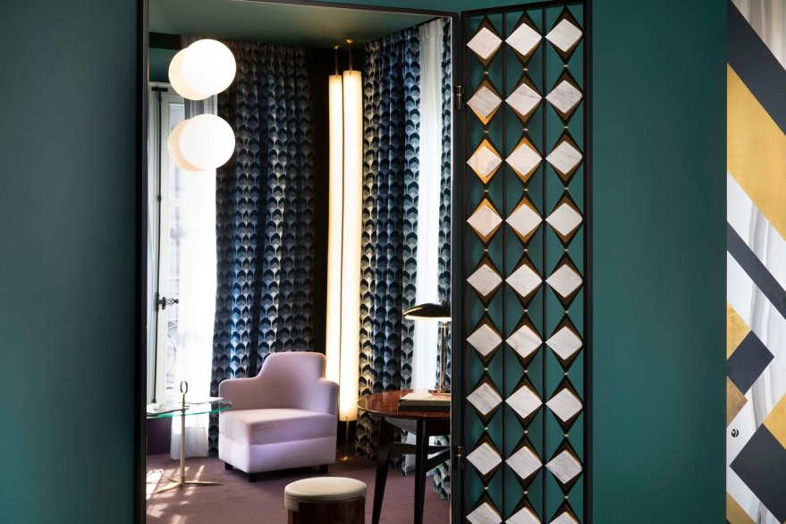 A Interior Design Masterpiece – Hotel Saint-Marc in Paris by Milan Based Design Duo DIMORESTUDIO
