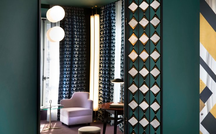 A Interior Design Masterpiece - Hotel Saint-Marc in Paris by Milan Based Design Duo DIMORESTUDIO, Interior 3000 design blog, interior Design, Furniture Design