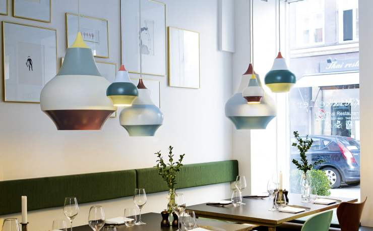 Mesmerizing Colorful Light - Cirque Pendant Lamp Design by Clara von Zweigbergk for Louis Poulsen - Interior 3000 Design Blog - Furniture Design - Interior Design - Lamp Design