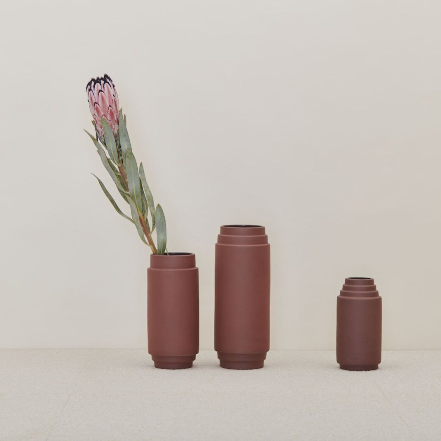 Beautiful Greek and Egyptian Inspired Vase Designs by Stilleben for Skagerak
