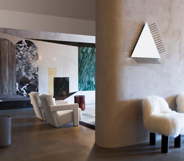 Anticamera Apartment Interior Design in Amsterdam by Milan Design Duo Studio Pepe