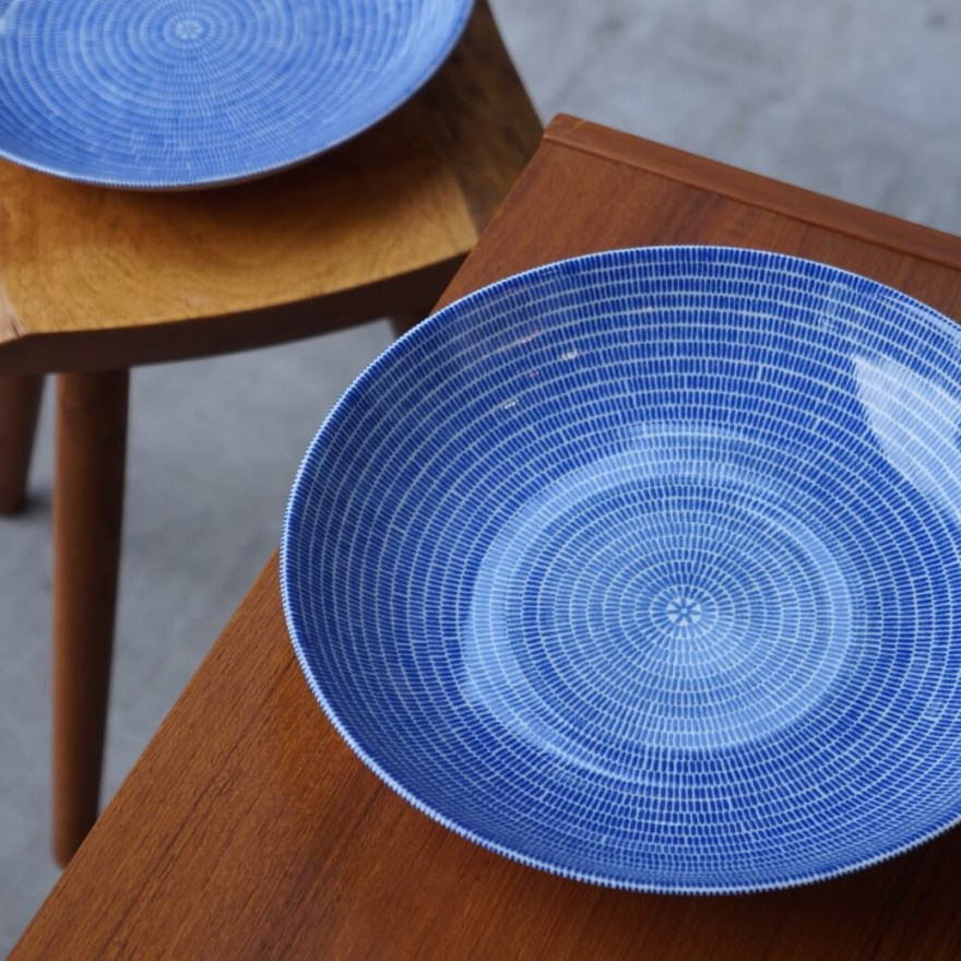 Delightful Finnish Ceramic Design – 24h Avec Plate for Arabia Designed by Kati Tuominen-Niittylä