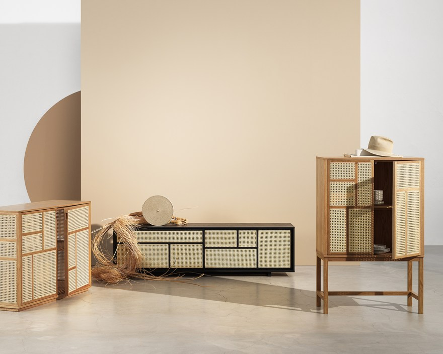 Air Cabinet and Sideboard Design by Mathieu Gustafsson for Design House Stockholm