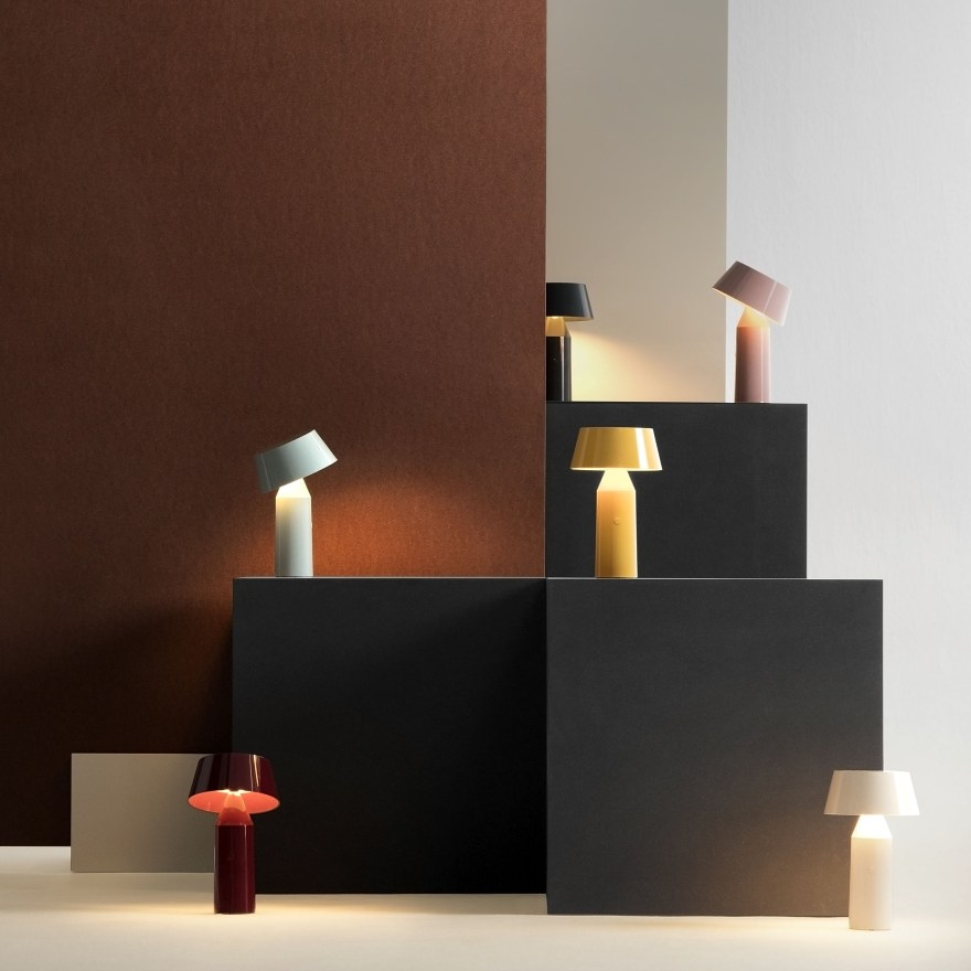 Elegant and Portable – Bicoca Table Lamp Design by Christophe Mathieu for Marset