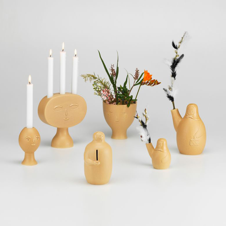 The Finnish-Japanese Friendship – Secrets of Finland Design Collection by COMPANY for Artek – Candleholders, Vases and Coin Collector