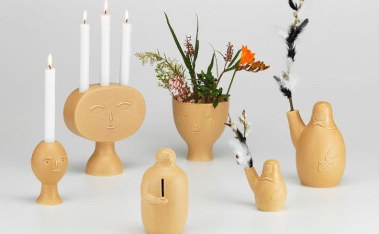The Finnish-Japanese Friendship - Secrets of Finland Design Collection by COMPANY for Artek - Candleholders, Vases and Coin Collector, Interior 3000 Design Blog, Interior Design Furniture Design
