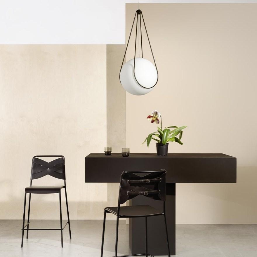 Kosmos Holder for the Luna Pendant Light Design by Alexander Lervik for Design House Stockholm
