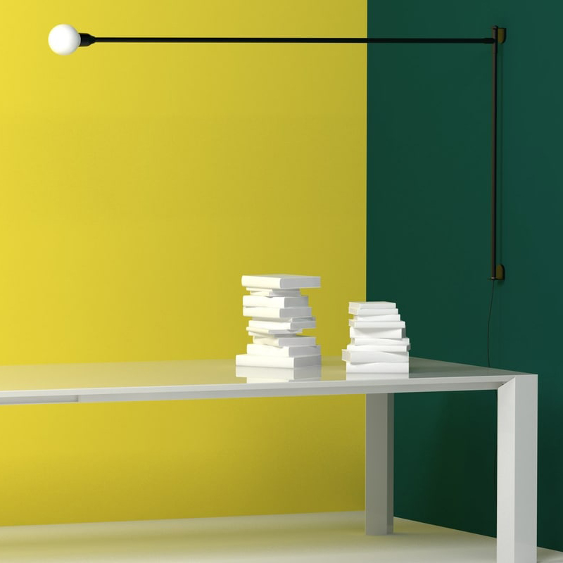A Wonderful Design Classic Re-Launch – Potence Pivotante Wall Lamp Design by Charlotte Perriand for Italian Nemo Lighting