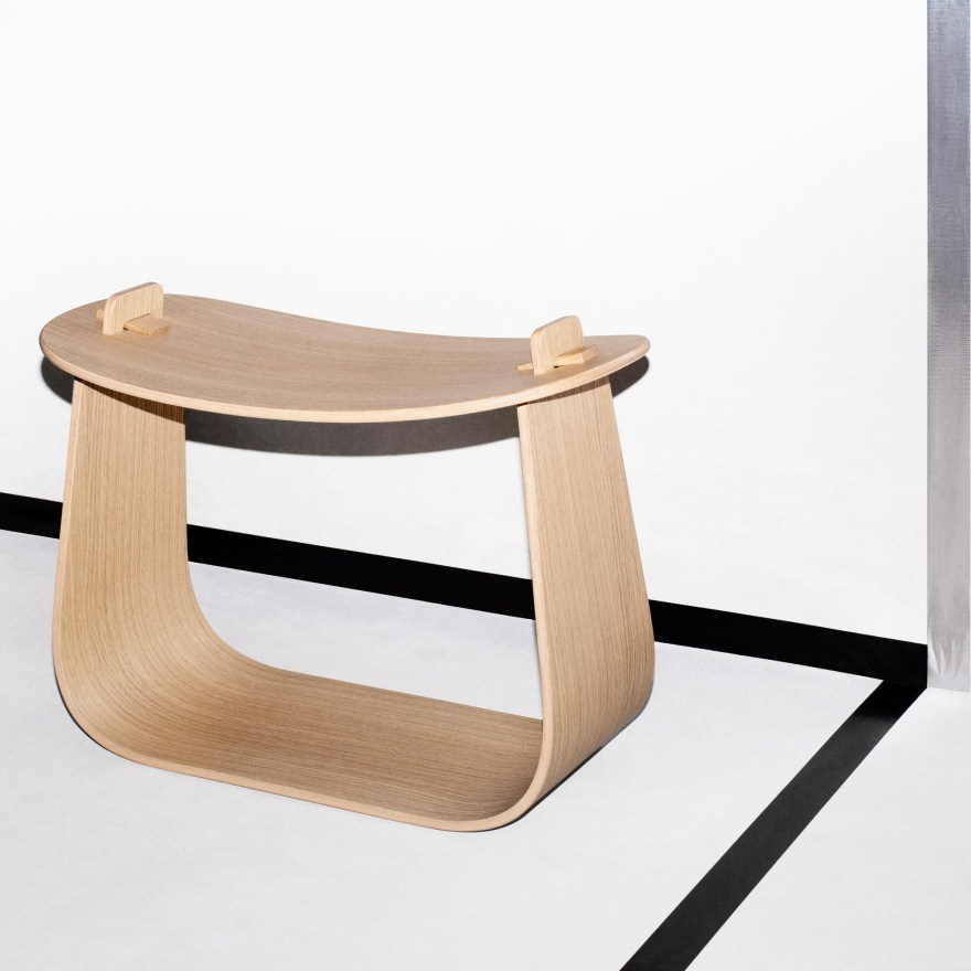 Oak in its Best Shape – Harry Stool Design by Chris Martin and Magnus Elebäck for Massproductions
