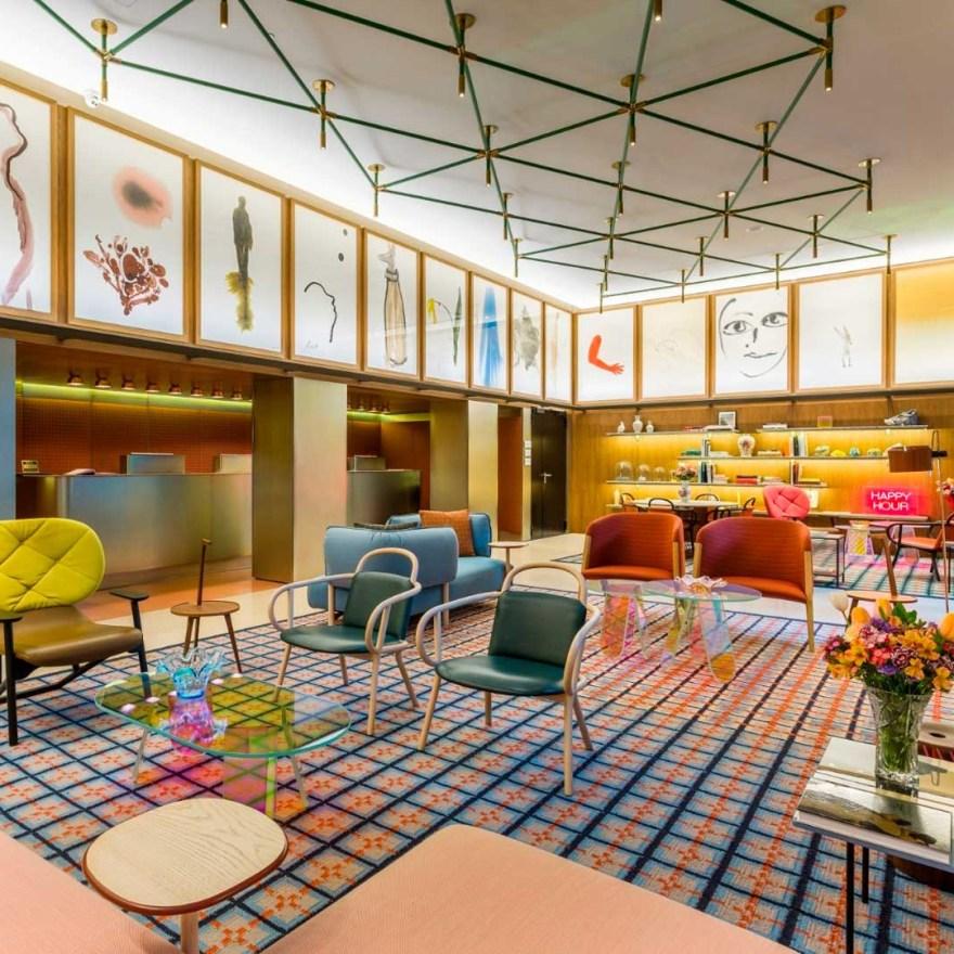 A Signature Hotel Design of Patricia Urquiola – Room Mate Giulia Hotel in Milan, Italy
