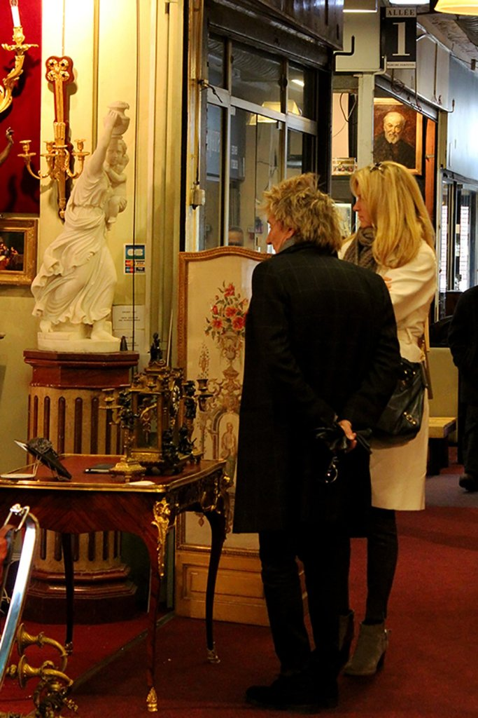 Rod Stewart at Les Puces