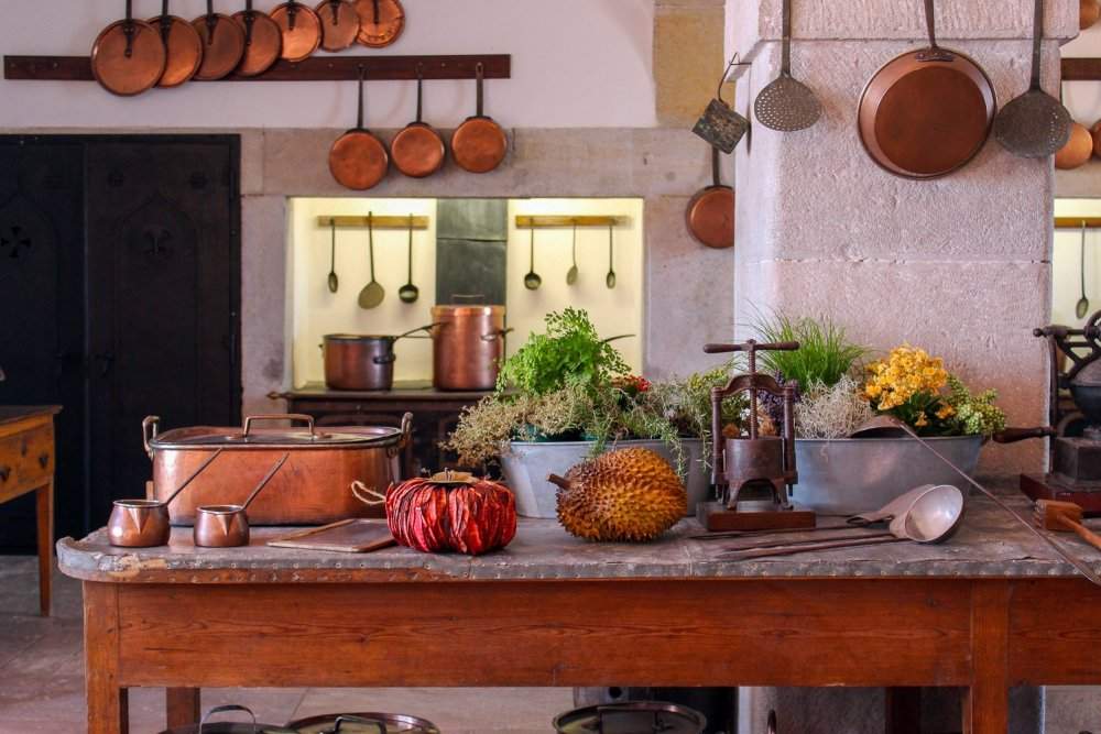 Rustic Kitchen at the Palacio Nacional de Sintra