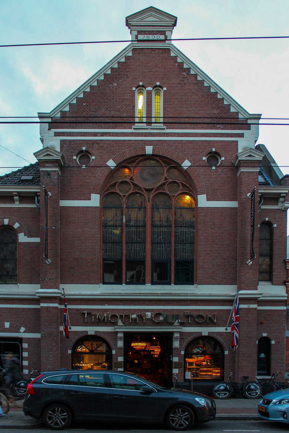 The Timothy Oulton flagship store on Amstelveenseweg in Amsterdam