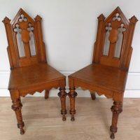 Antique Gothic Chairs   Antique Furniture