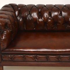 Leather Chesterfield Sofa For Sale Sleeping Bag Antique Swedish Interior