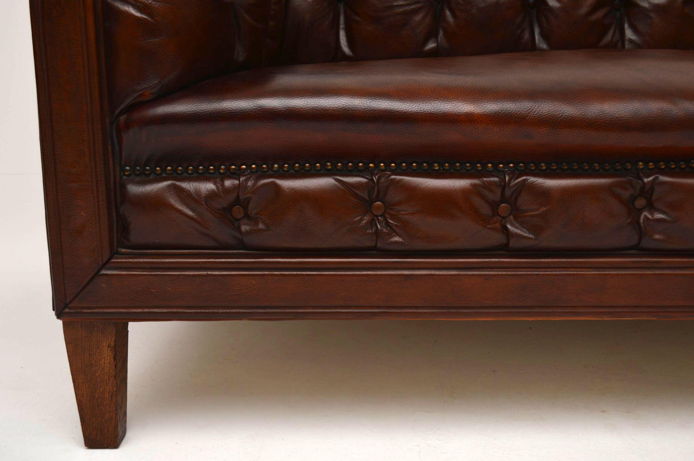 leather chesterfield sofa for sale milano grey corner antique swedish interior
