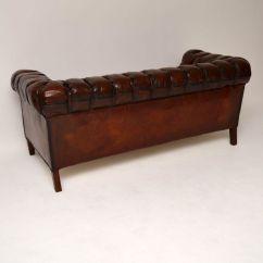 Leather Chesterfield Sofa For Sale Sofas White Company Antique Swedish Interior